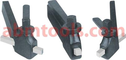 Turning Tool Bit Holder - American Pattern - Positive rake for use with high speed steel tool bits.