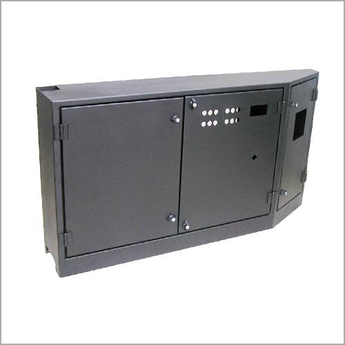 Control panel enclosures for stationary machines and enclosu -