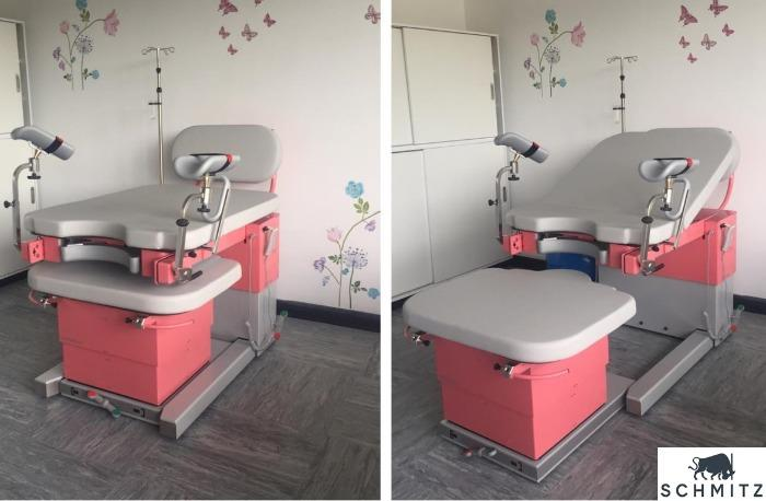 Partura® - The SCHMITZ delivery table - comfortable and safe delivery – with focus on preventive obstetrics