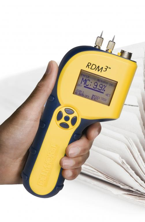 Advanced moisture meter for paper - RDM-3P