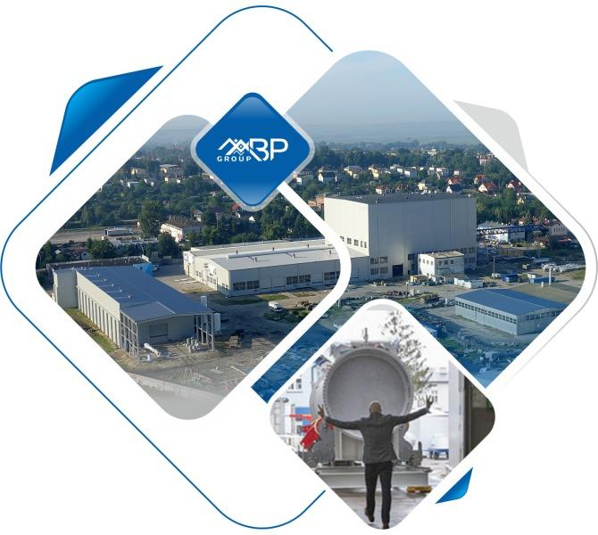 B&P Group produces the device, delivers it to the  - construction site and performs accompanying technological installations.