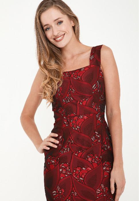 Women's dress - Women dress '' ALIANA '' PO6006-0802