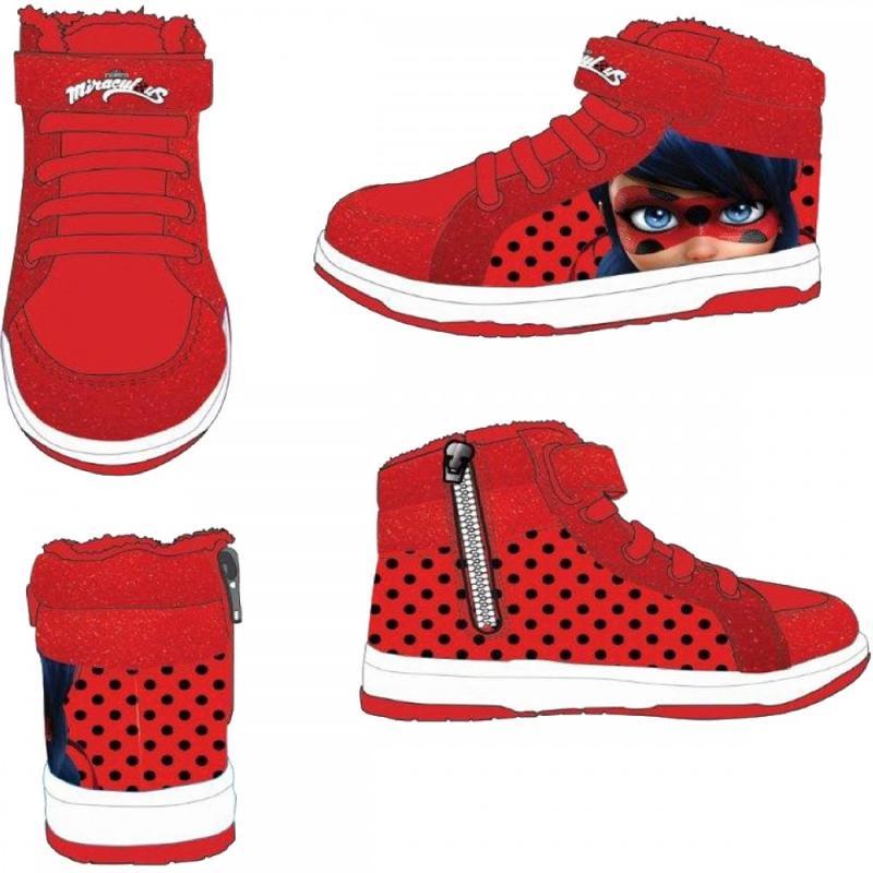 16x Baskets montantes avec boite LadyBug du 25 au 32 - Chaussures