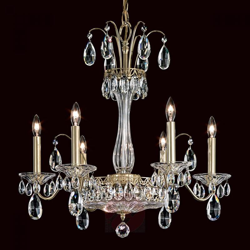 Elegant chandelier Fontana Luce - design-hotel-lighting