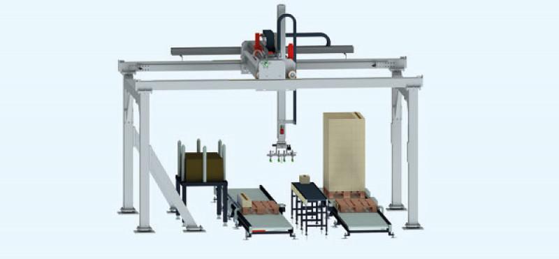 Systèmes de portails haute performance de la série HPS - Robots portiques pour applications spéciales