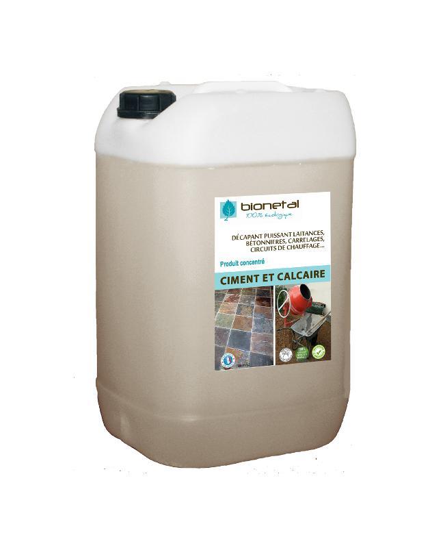 Décapant laitance – Ciment et Calcaire - Nettoyants 100% naturels pour le professionnel et l'industrie
