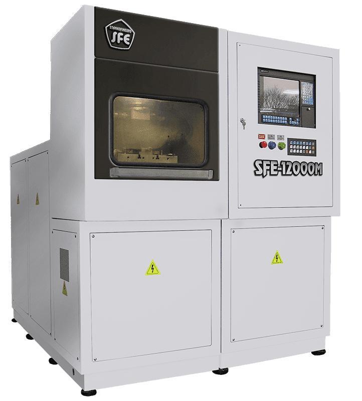 Электрохимический копировально-прошивной станок SFE-12000M - Максимальная площадь обработки 120см2