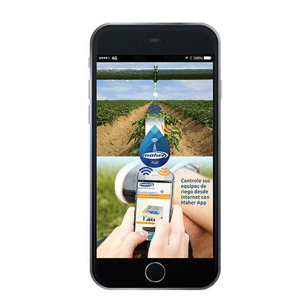 MAHER App - Aplicación para el manejo de programador de riego CICLÓN Y FERTI 8000 con móvil