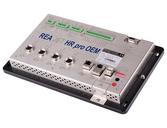 Imprimante à jet d'encre HP - REA JET HR pro OEM - pour les applications de sérialisation rapides et intégration sur les machine