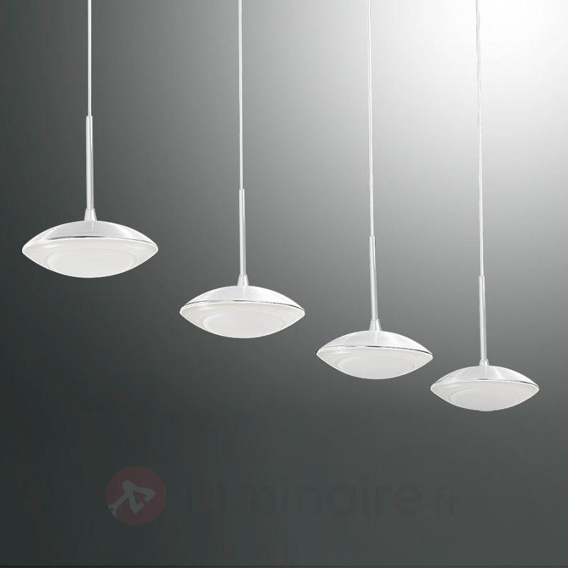 Hale - Suspension à barres LED à quatre flammes - Suspensions LED