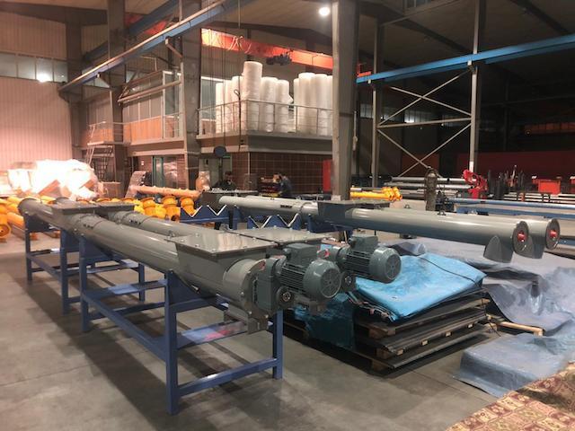 filler dust conveyor - asphalt plant