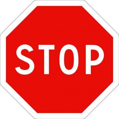 Panneau Ab4 Stop - Balisage De Chantier Et Panneaux Routiers