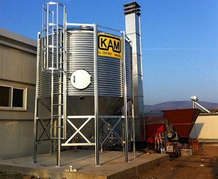 Silos for warehousing and storage - since 1971