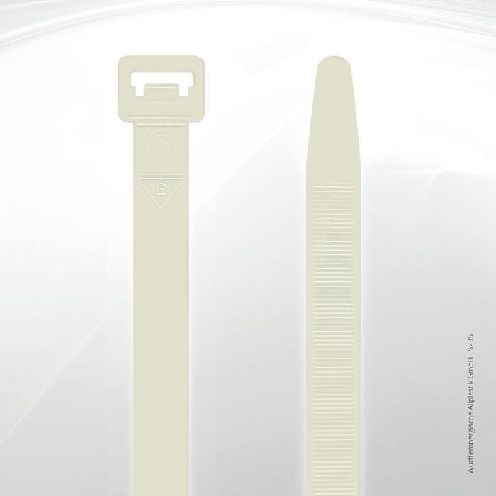 Allplastik-Kabelbinder® cable ties, standard - 5235 (natural)