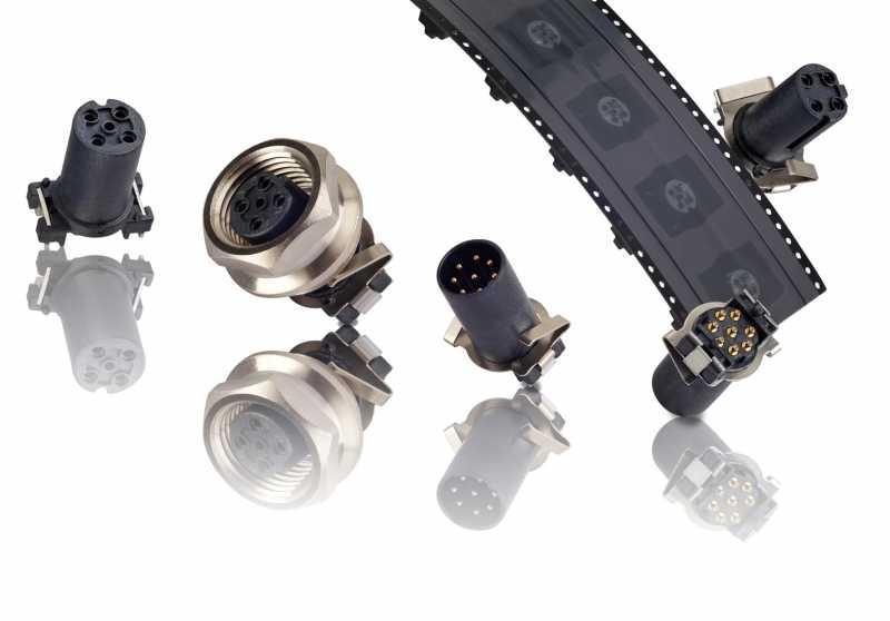 M12x1 Sockets SMT - M12x1 Sockets SMT