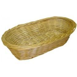 Banneton à pain osier blanc - Vannerie d'emballage