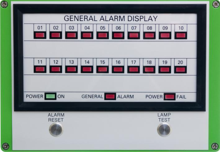 General Alarm Indiactor Panel - Tough NOMS compliant general alarm systems for custodial sites.