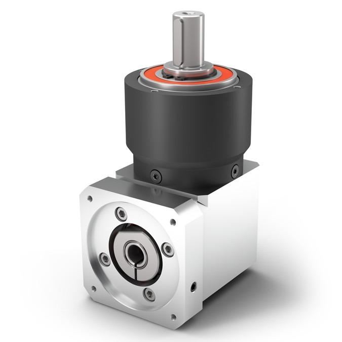 Right Angle Planetary Gearbox WPLPE - Economy Gearbox with Output Shaft - Spur gear - Bevel gear right angle stage