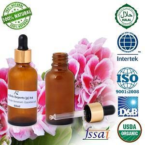 Ancient healer Geranium oil 60 ML - 100% Pure & Natural Geranium  essential oils