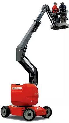 Nacelle à bras articulé Manitou - Location Machine -  120 AETJC -