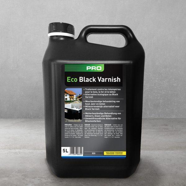 Eco Black Varnish - Pro