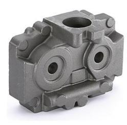 Oil pressure distribution block