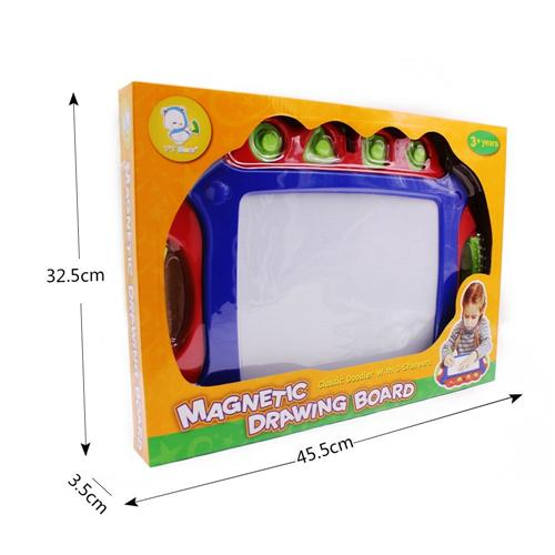 Plastic kids drawing board - Wishtime Magnetic Color Drawing Board