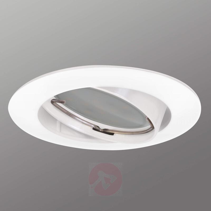 Pivotable Downlight DIM Flat recessed spot white - indoor-lighting