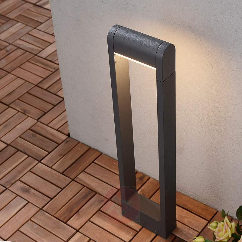 Rectangular-shaped LED path light Madalina - Path and Bollard Lights
