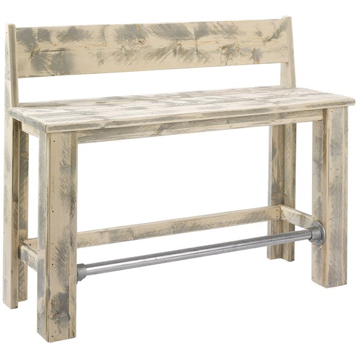 Timber High Bench 2 - Outdoor lounge furniture