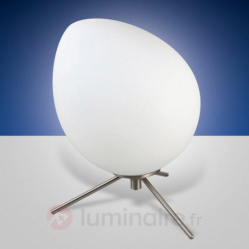 Lampe à poser LED Evo avec abat-jour asymétrique - Lampes à poser LED