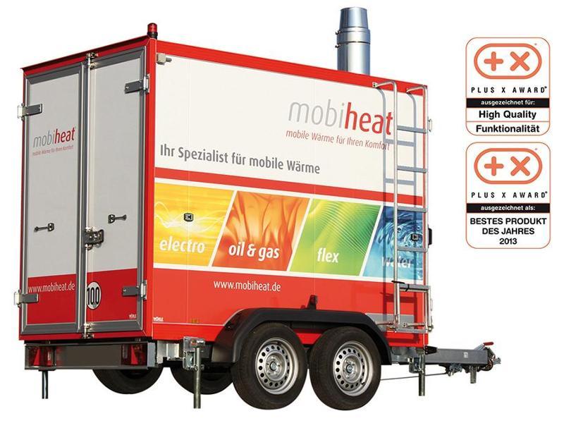 Vermietung orange-line - Heizmobil MH150F