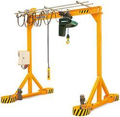 Portique d'atelier motorisé pour charge de 1 000 à 6 300 kg - null