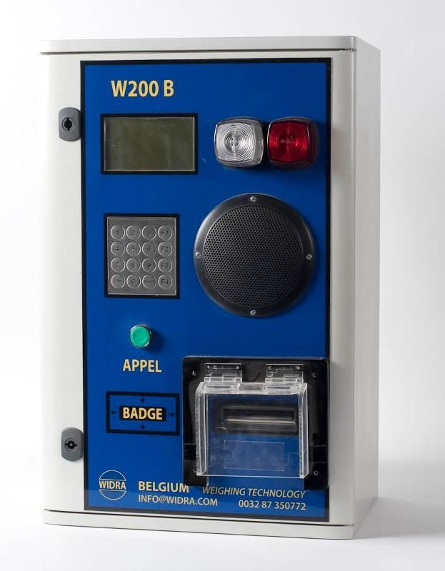 Borne de pesage standard - W200 C