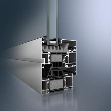 Aluminiowe okna Schüco AWS 70.HI