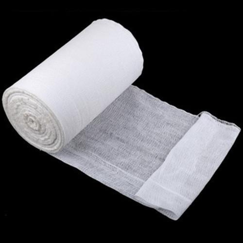 "36""x 100 yard quarter fold gauze roll - 100% cotton medical skim gauze, after degreasing bleaching, high temperature dry"