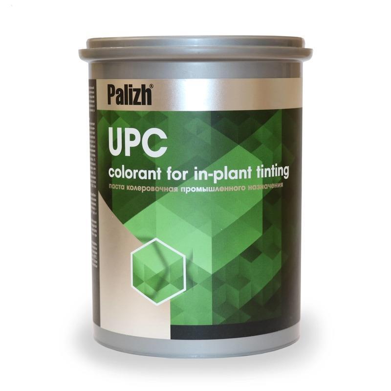 Универсальные пигментные концентраты UPC - Пигментные пасты для промышленной колеровки материалов на водной основе