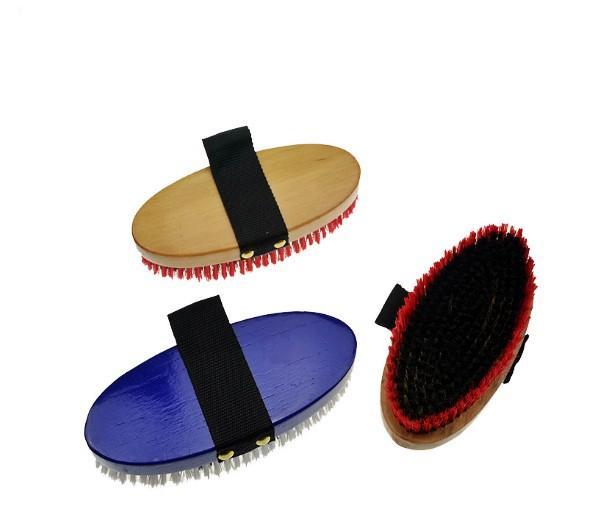 horse body brushes - horse body brush / horse grooming brush/horse plastic dandy brush