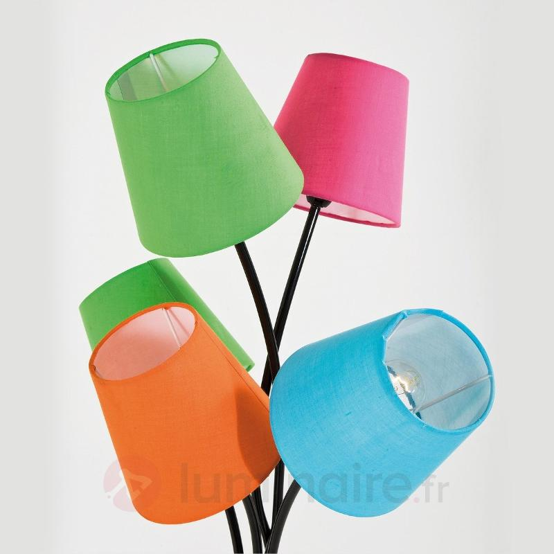 Lampadaire CINQUE COLORE à 5 spots - Lampadaires design