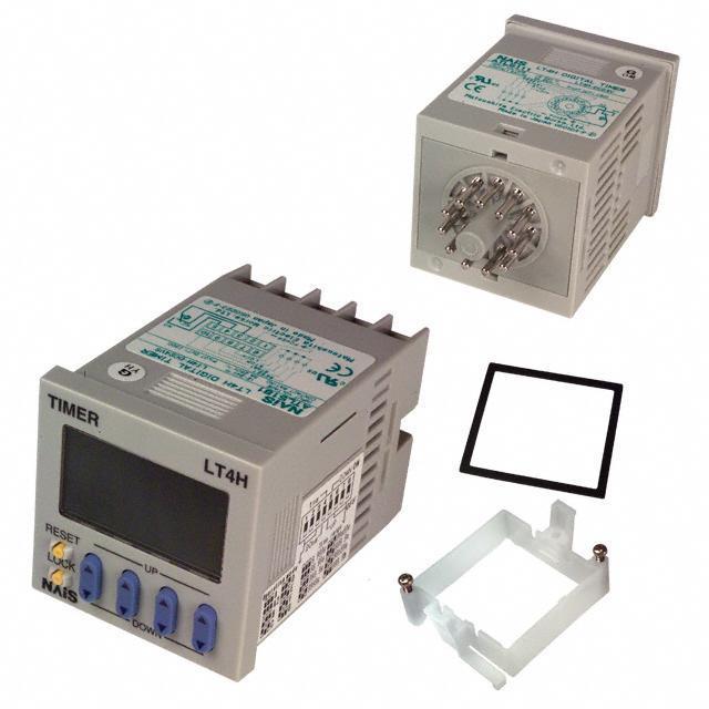 TIMER RELAY DIGITAL 240VAC 11PIN - Panasonic Industrial Automation Sales LT4H-AC240V