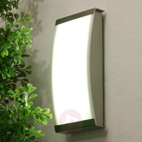 Trendy LED outdoor wall lamp LISET, 4,000 K - outdoor-led-lights