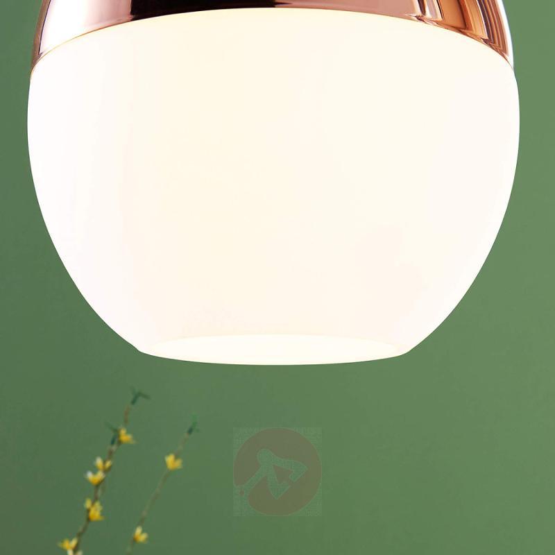 Copper-coloured Deda pendant lamp - indoor-lighting