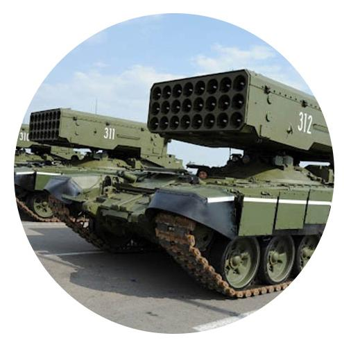 Military grade hydraulic cylinders - Our cylinders operate in the most difficult conditions