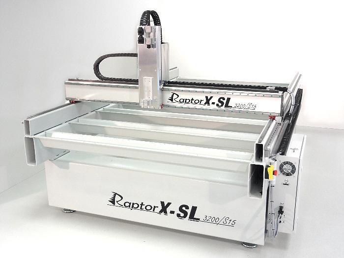 RaptorX-SL 1200/S20 - Fräsmaschine mit 1200 x 2010 x 300 mm