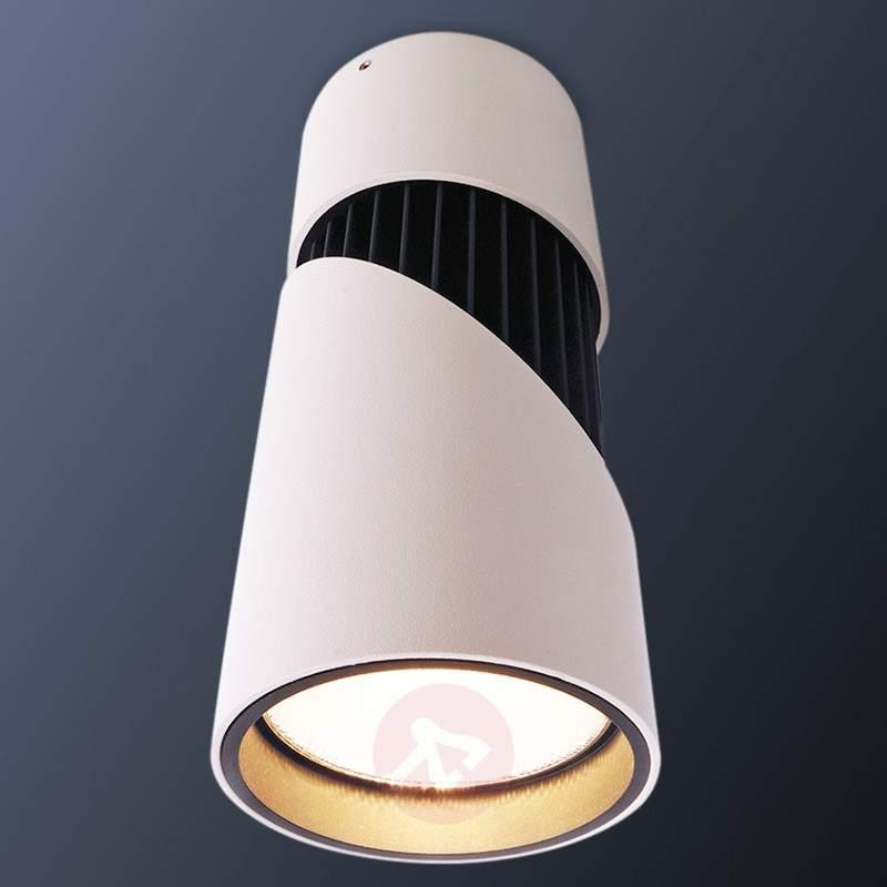 Pivotable LED ceiling lamp Black and White V - Surface Mounted Lights