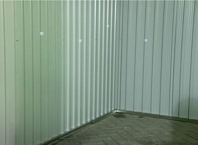 Abri de jardin/ abri-bûches en métal - null