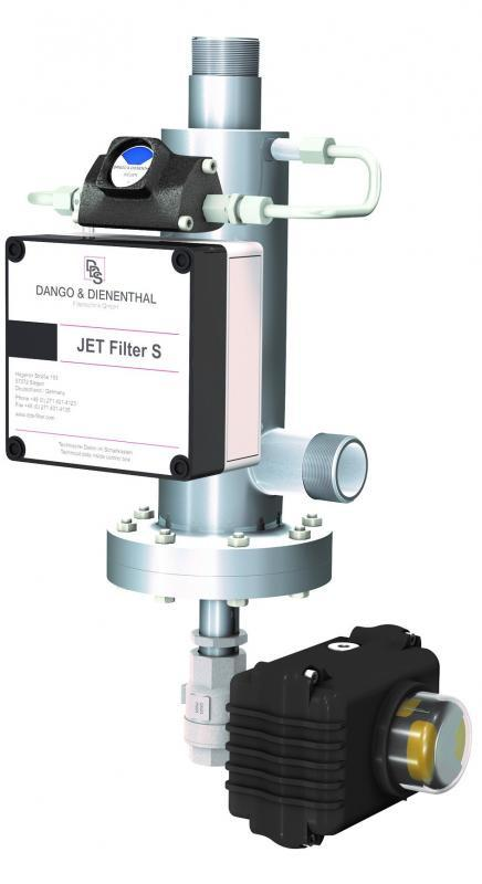 JET Filter S, More compact, ready-mounted backwash filter