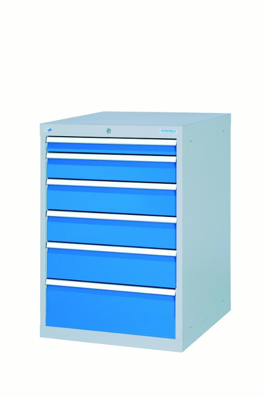 Drawer cabinet T736 R 18-24 with 6 drawers, different... - 580/1311V10A