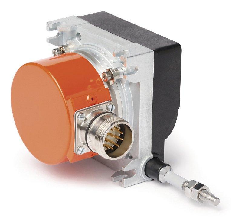 线拉编码器 SG31 - 线拉编码器 SG31, 结构坚固的旋转编码器安装可测量 3000 mm 的长度
