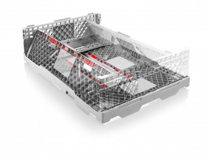 Collar Plástico CC1 - Collar para Paletas, Mecanismo de cierre seguro y sencilla